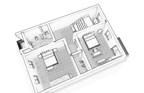 מכירת דירה מחולקת למספר דירות- מה הסיכונים?